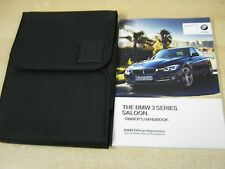 BMW 3 SERIES 2014-2016 OWNERS MANUAL HANDBOOK  AND WALLET INC I DRIVE , m82