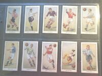 1955 Thomson Wizard FAMOUS FOOTBALLERS football Trade set 25 cards like tobacco