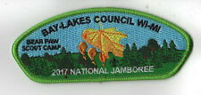 2017 National Scout Jamboree Bear Paw Scout Camp Leaf Green JSP [NJ151]