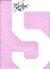 CHRISTIAN OKOYE SIGNED JERSEY NUMBER KANSAS CITY CHIEFS #35