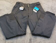 NWT Columbia titanium snow pants Men XXL Omni Heat Ridge 2 Run Black waterproof