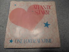 ATLANTIC STARR   ONE LOVER AT A TIME   7 INCH   WITH PICTURE SLEEVE  483