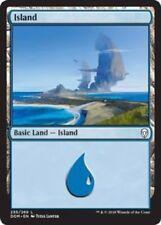 4 x Island (255/269) - Dominaria - Magic the Gathering MTG Basic Land