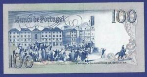 100 ESCUDOS 1981 GEM UNCIRCULATED BANKNOTE FROM PORTUGAL