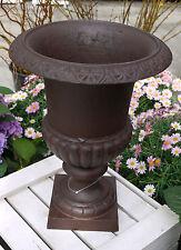 Französische Vase Amphore 43 cm (L) braun Gußeisen Esschert Design NEU Lagerware