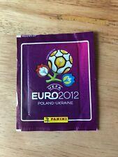 LOT 10 PACKETS POCHETTES TUTEN PANINI FOOTBALL EURO 2012 POLAND SEALED
