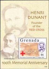Grenada 2010 Henri Dunant/Red Cross/Medical/Health/Welfare/People 1v m/s n46266