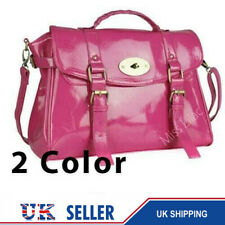 6 Clearance Leather Style Satchel Laptop Handbag Tote Shiny