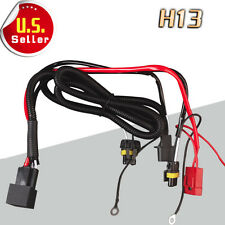 1x Relay Wiring Harness HID Conversion Kit Hi/Lo Beam Headlights  H13 9008 US