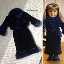 American Girl TWILIGHT OUTFIT~Velour 2 PC Jacket~Skirt~Holiday~1997 Pleasant Co~