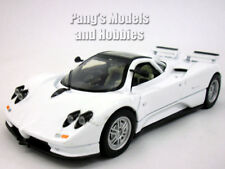 Pagani Zonda 1/24 Scale Diecast Metal Model - WHITE