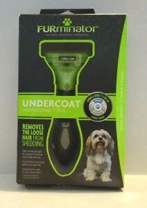 FURminator Undercoat DeShedding Tool---Small Dog, Long Hair. New--Sealed