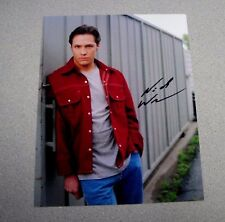 NICK WECHSLER SIGNED ROSWELL ACTOR  8x10 COLOR AUTOGRAPH PHOTO