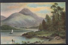 Scotland Postcard - Loch Achray     RS6587