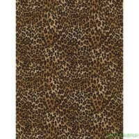 "FQ Timeless Treasures Tiny Leopard Print Cotton Fabric 18""Lx21""W-BTFQ"
