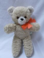 VINTAGE CHAD VALLEY CHILTERN MUSICAL LULLABY TEDDY BEAR PLUSH WITH LABEL 1960s