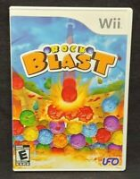 Rock Blast   - Nintendo Wii Wii U Game 1 Owner CLEAN Mint Disc !