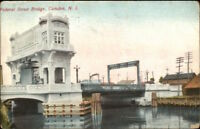 Camden NJ Federal St. Bridge c1910 Postcard