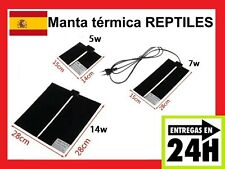Manta Térmica 5w 7w 14w 28w  Terrarios, Papilleros, Reptiles, Tortugas Loro