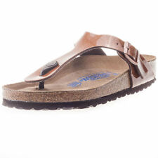 Sandali e scarpe Slim Casual marrone per il mare da donna