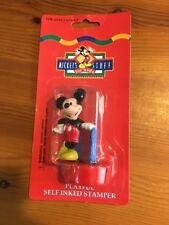 Disney Mickey Mouse Figurine Playful Self Inked Stamper
