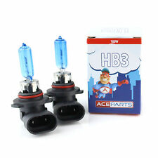 Vauxhall Astra G/MK4 1.6 HB3 100w Super White Xenon HID Main High Beam Bulbs XE9
