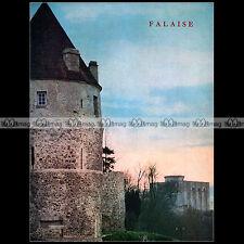 ART BASSE-NORMANDIE N°39 ★ FALAISE (14700) ★ CHÂTEAU EGLISE OEUVRES D'ART EGLISE