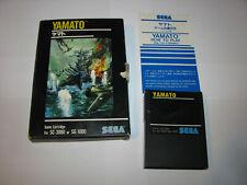 Yamato Big Box Sega SG-1000 SC-3000 SMS Japan import Complete US Seller