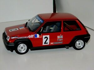 Renault 5 Gt Turbo Coupe N 2 1985 OTTO MOBILE OT579 1:18