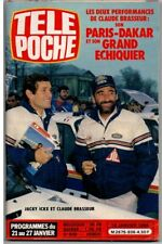 ▬►Télé Poche 936 (1984) BRASSEUR PARIS DAKAR_ANNE PARILLAUD_RIKA ZARAÏ_GIRAUDEAU