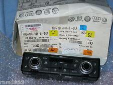 OEM Genuine Audi A8 S8 Quattro Dual Heat AC Temperature Control HVAC Control