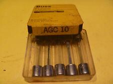 BUSS AGC 10 amp 32 volt GLASS FUSE