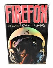 Firefox Down, Craig Thomas, First American Edition, Full Number Line 1977