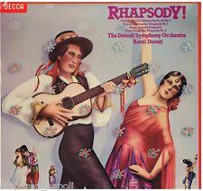 Antal Dorati: Rhapsody! - LP Vinyl 33 Rpm Decca Sxl 6896