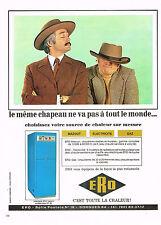 PUBLICITE  1971   ERO     chaudière mazout gaz éléctrique