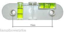 Bohrschablone für Hohlwanddosen / Schalterdosen mit Wasserwaage