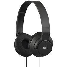 JVC HAS180 Lightweight Powerful Deep Bass Comfortable Over Ear Headphones Black