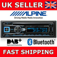 Alpine cde-196dab auto estéreo RADIO CD Iphone Bluetooth Usb Dab Listo + Antena