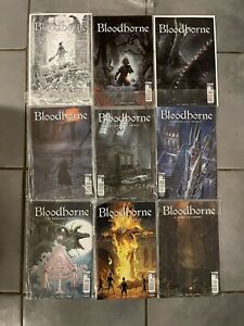 New Rare Bloodborne Graphic Novel Collection First 9 Issues Titan Comics PS4