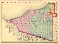 Ontonagon County Michigan - Walling 1873 - 23.00 x 30.71