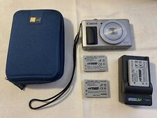 Canon PowerShot S110 12MP Digital Camera 3-Inch LCD (Silver) VG Condition