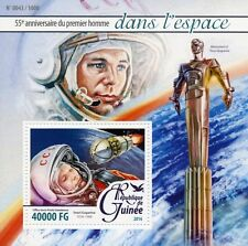 Guinea 2016 MNH Yuri Gagarin First Man in Space 55th Ann 1v S/S Monument Stamps