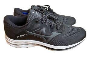Mizuno Wave Inspire 17 Running Shoes Brand New. UK 10 Black & White