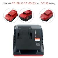 PCXMVC Charger For Porter Cable 18V Li-Ion & NiCad NiMh Battery PC18B PC18BLX