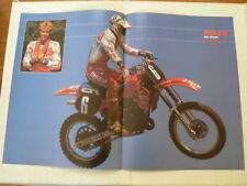A505-DAVE STRIJBOS HONDA 125 MX MOTOCROSS POSTER 1985 ?