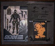 "?HASBRO G.I.JOE CLASSIFIED SERIES SNAKE EYES DELUXE 6"" FIGURE SOLD OUT EXCLUSIVE"