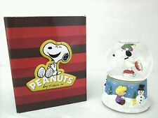 Westland Peanuts Snoopy on Ice Musical Snow Globe Excellent Gift New in Box