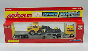 """Majorette Super Movers Semi Ford CL-9000 8"""" Diecast Scale Model Front End Loader"""
