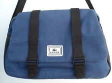 Lacoste Urban Mate Blue/Black Unisex Messenger Bag Crossbody Cotton/PVC
