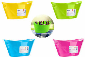 6.4L Plastic Ice Bucket Cooler Bowl Flex Party BBQ Summer Party Drinks Beer Wine